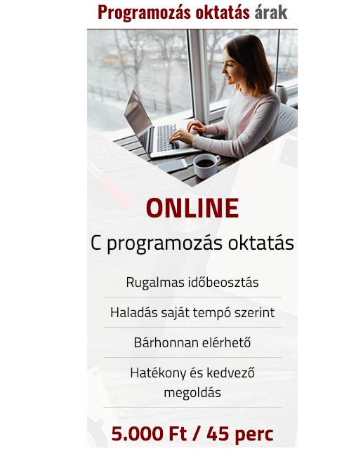 programozó oktatás kezdőknek